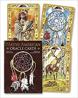 Native American Oracle cards- Oracle des Indiens d'Amérique