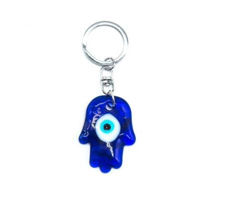 Porta chaves mao de fatima olho turco