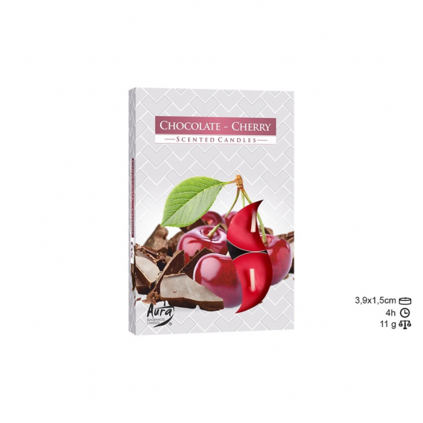 velas chocolate cereja